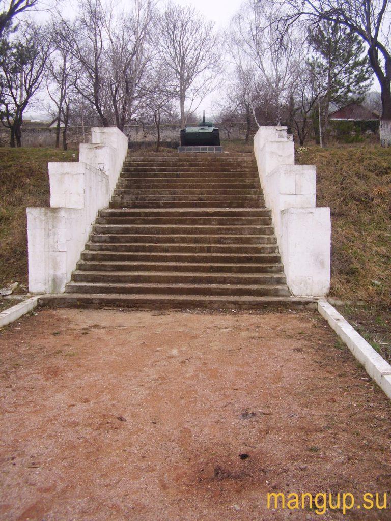Бахчисарай. Кладбище воинов-освободителей.