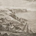 Вид Георгиевского монастыря, гравюра.