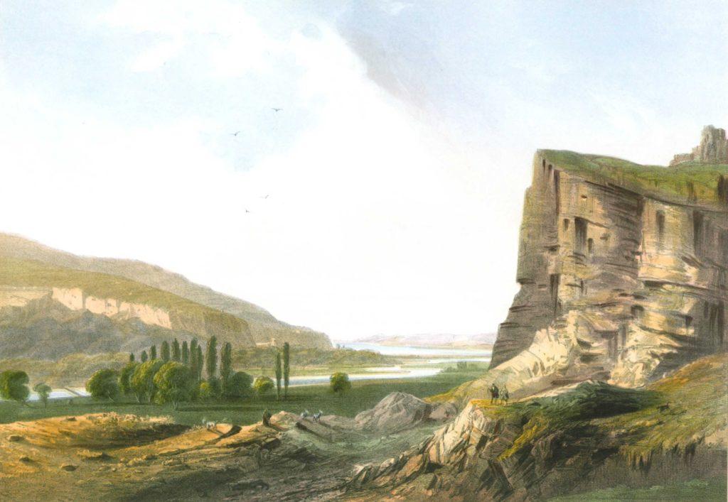 Карло Боссоли. Вид Инкерманской долины.
