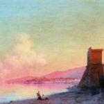 И.К. Айвазовский. Феодосия. Восход солнца (1852).