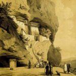 Успенский монастырь близ Бахчисарая в Крыму.
