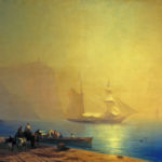 И.К. Айвазовский. Утро на морском берегу. Судак (1856).