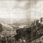 Вид Чуфут-Кале от кладбища.