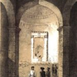 Руссен В.О. Интерьер церкви в Судакской крепости.