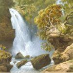 Карло Боссоли. Водопад Джур-Джур.