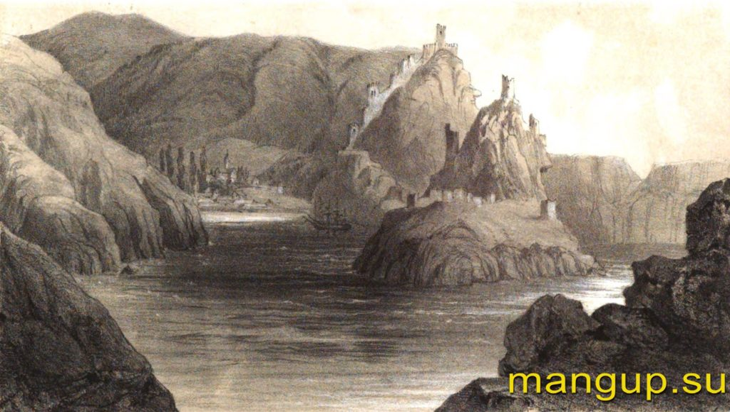 Руссен В.О. Крепость Чембало (Балаклава).
