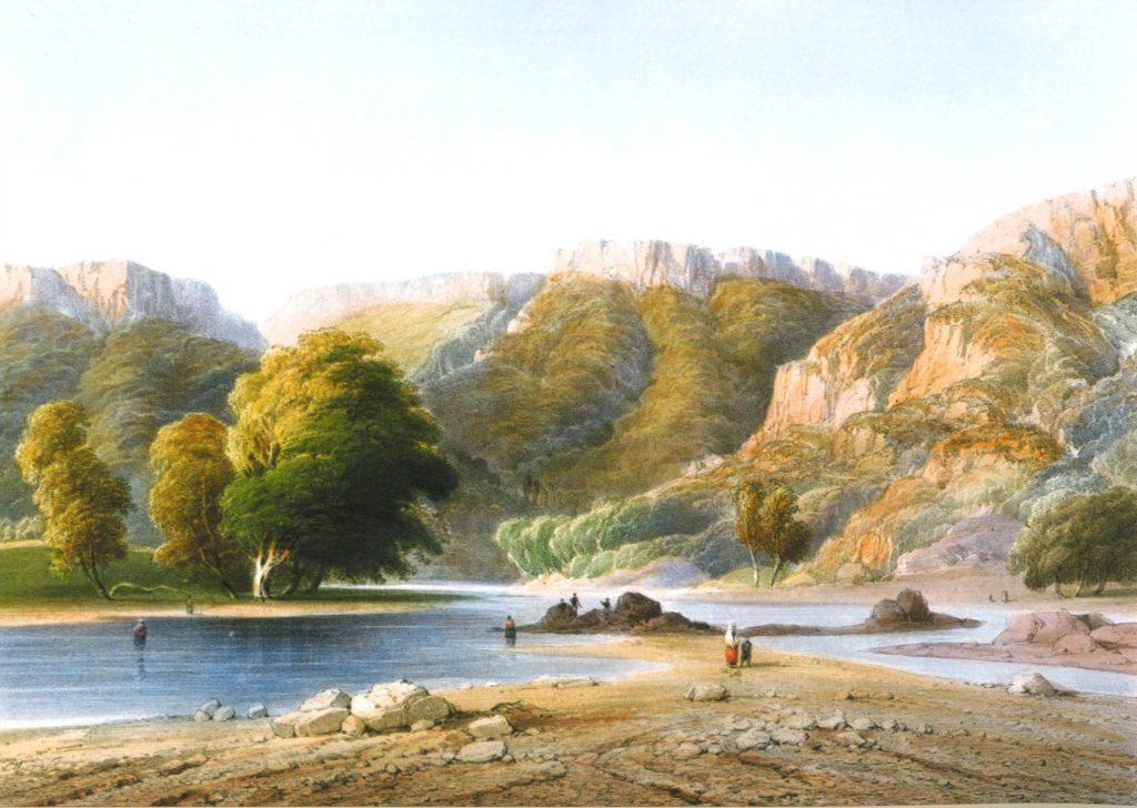 Карло Боссоли. Река Кача.