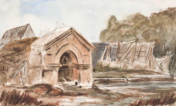 А.У. Адейр. Фонтан в татарском селе Варнутка (1855).