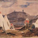 А.У. Адейр. Лагерь в Балаклаве, май 1855 г.