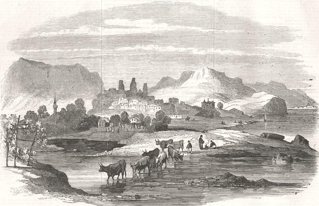 Вилибальд Рихтер. Алушта (1856).