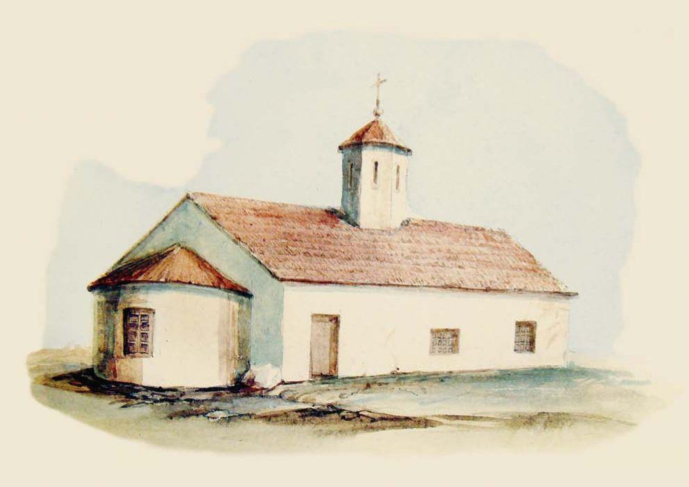 Д.М. Струков. Селение Аутка. Церковь Св. Феодора Тирона.