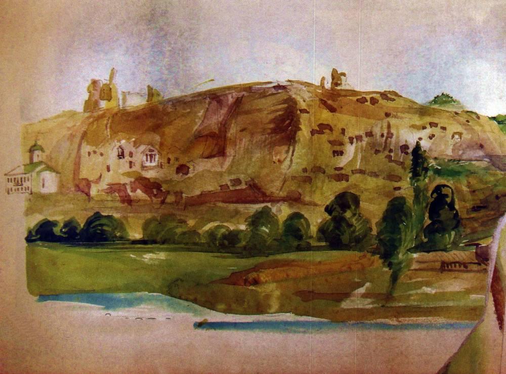 Д.М. Струков. Крепость Каламита и Инкерманский монастырь.