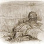 Д.М. Струков. Инкерман. Общий вид храма «География» (1897).