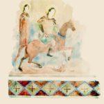 Д.М. Струков. Остатки фресковой росписи в храме св. Феодора (Фуна).