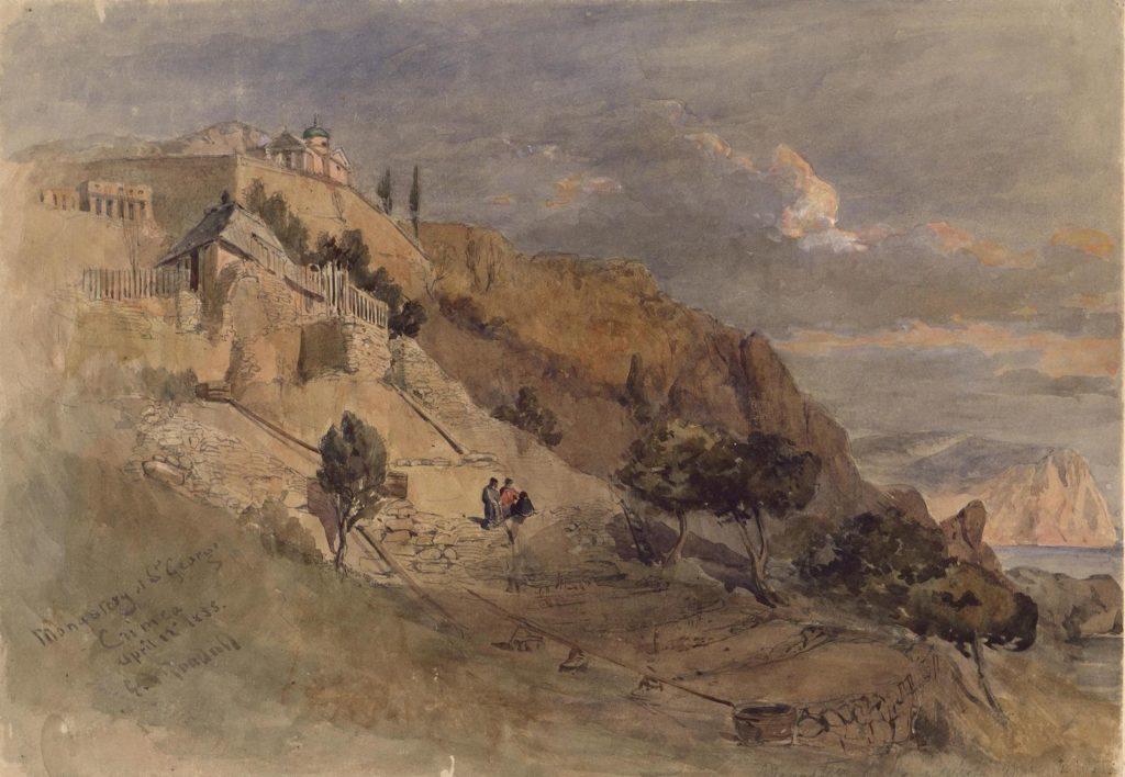 Эдвард Гудолл. Георгиевский монастырь в Крыму.