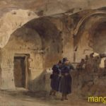 Эдвард Гудолл. Вид в Инкерманском монастыре, занятом союзниками.