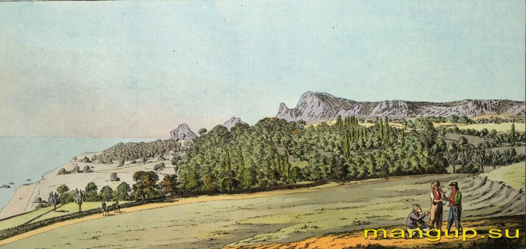 Х. Гейслер. Долина Симеиз