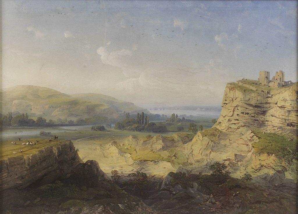 Карло Боссоли. Крепость Каламита в Инкермане.