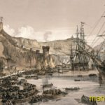 Балаклавская гавань (1854).