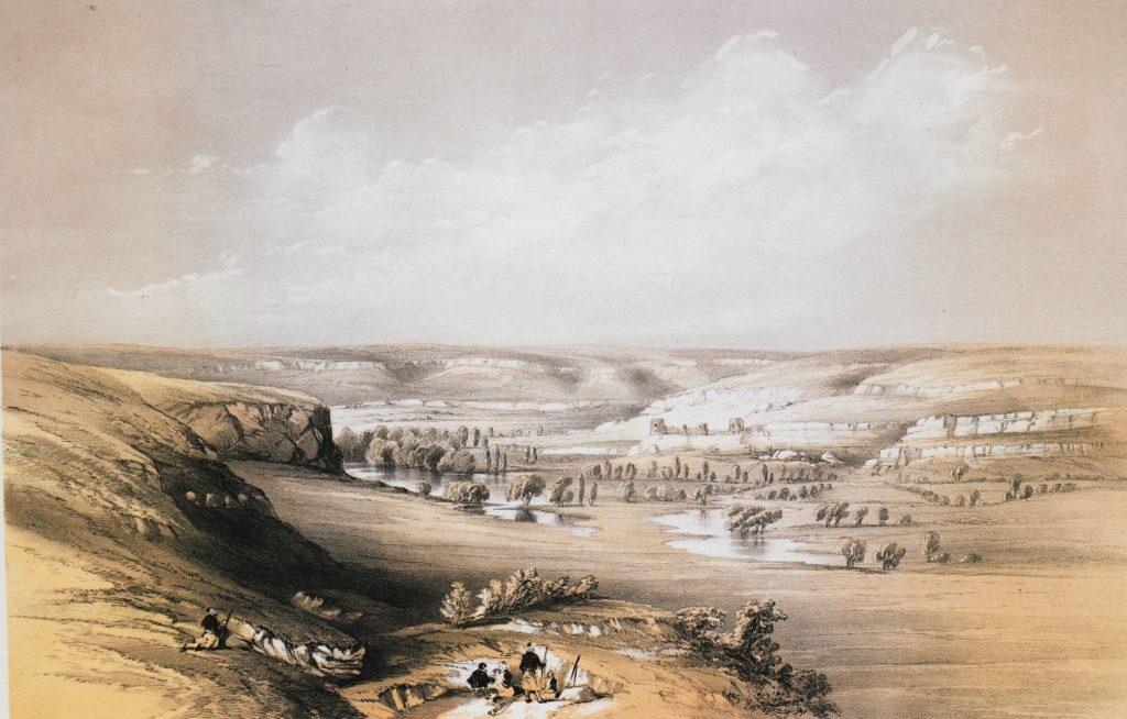 Моттрам Эндрюс. Инкерманская долина (1856).