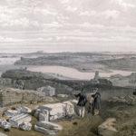 У. Симпсон. Вид на Севастополь с руинами древнего Херсонеса.