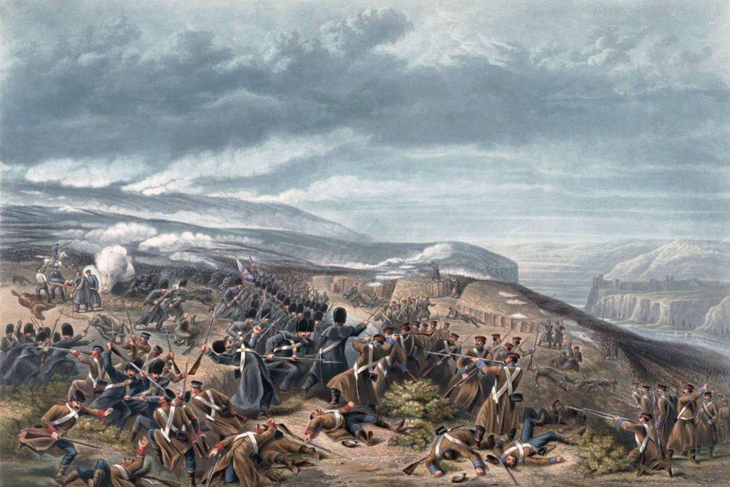 У. Симпсон. Вторая атака гвардейцев, когда они отбили две орудийные батареи в Инкерманском сражении.