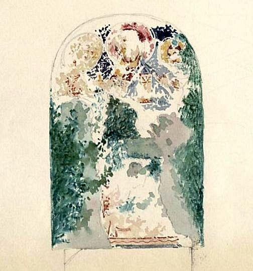 Вебель М.Б. Роспись алтарной апсиды пещерного храма в Георгиевской балке.
