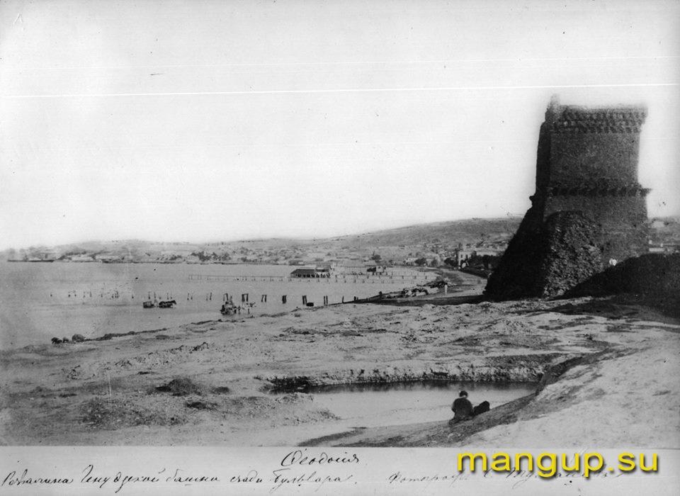 Феодосия. Башня св. Константина.