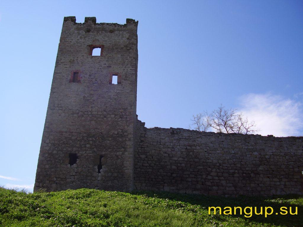 Феодосия. Цитадель Каффы. Башня «Климента VI».