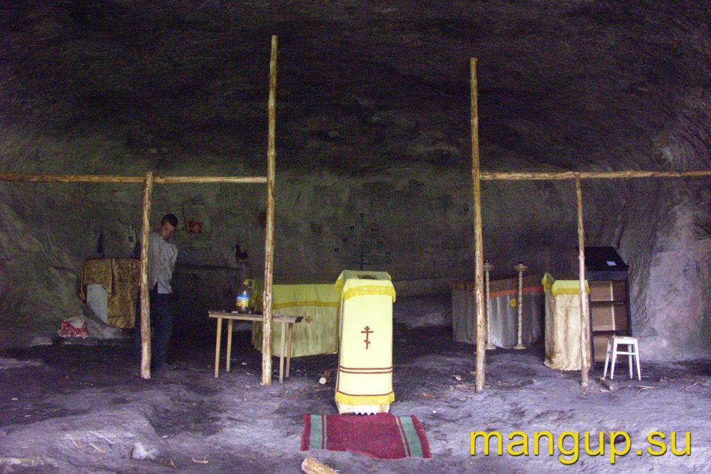 Челтер-Коба. Пещерный храм монастыря.