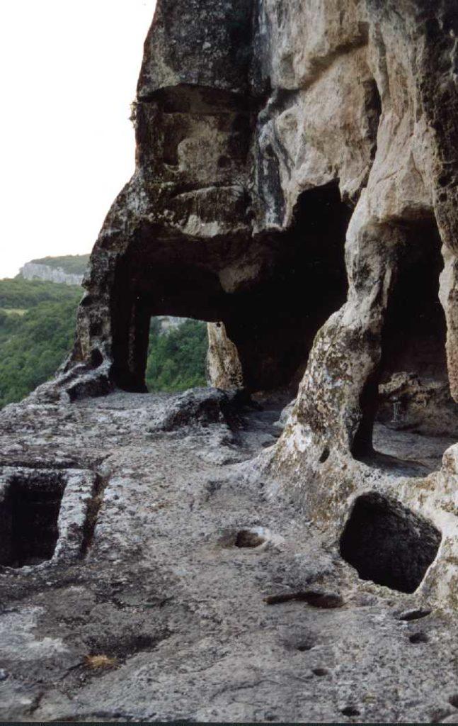 Шулдан. Терраса к югу от храма.