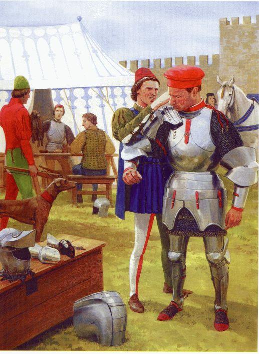 Итальянские кондотьеры XV в.