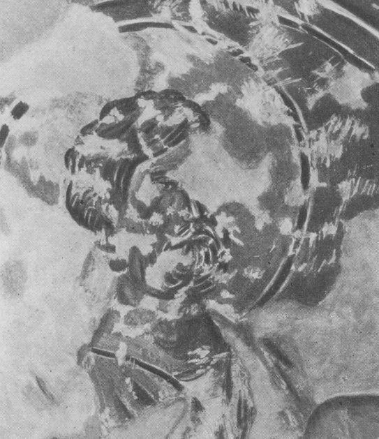 Черкес-Кермен. Храм «Донаторов». Апостол Петр по О.И. Домбровскому.