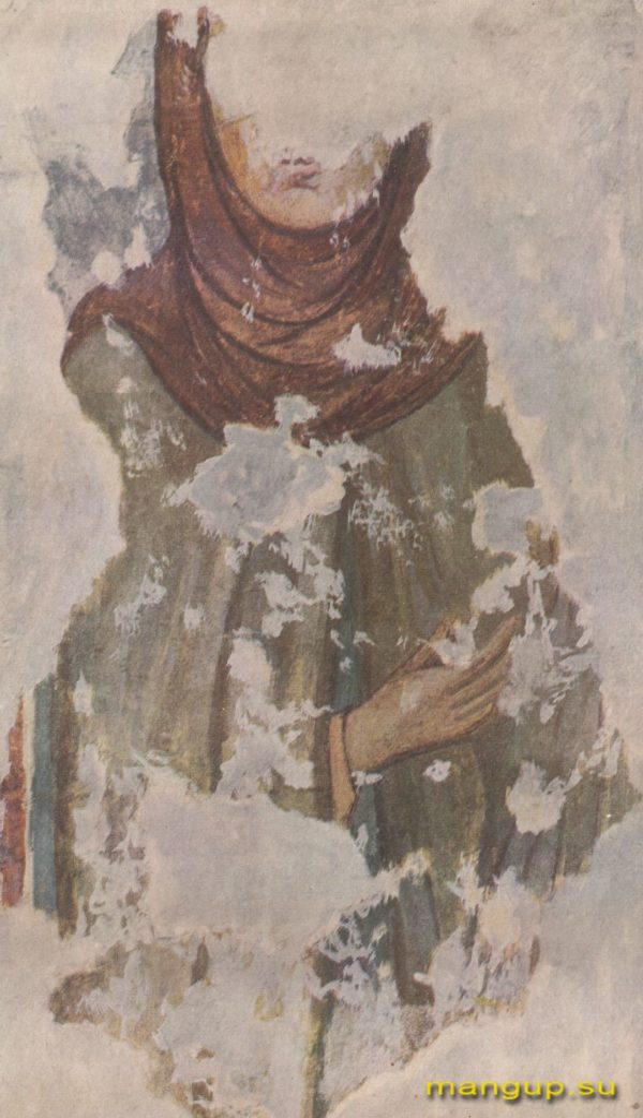 Черкес-Кермен. Храм «Донаторов». Княгиня по О.И. Домбровскому.