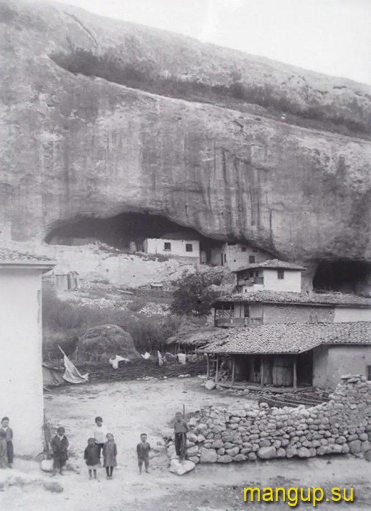 Черкес-Кермен. Улица села. Фото: 1920-е.