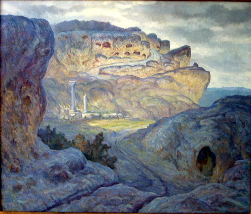 Глеч Н.П. Пещерный город Эски-кермен