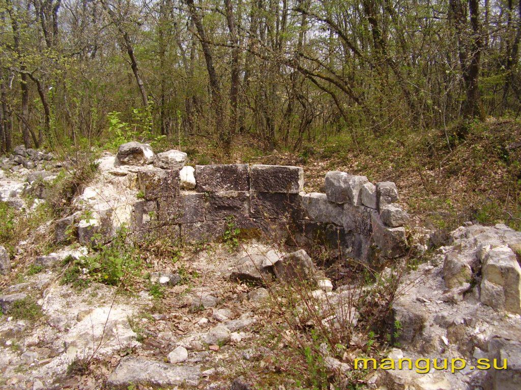 Руины Эски-Керменской базилики.