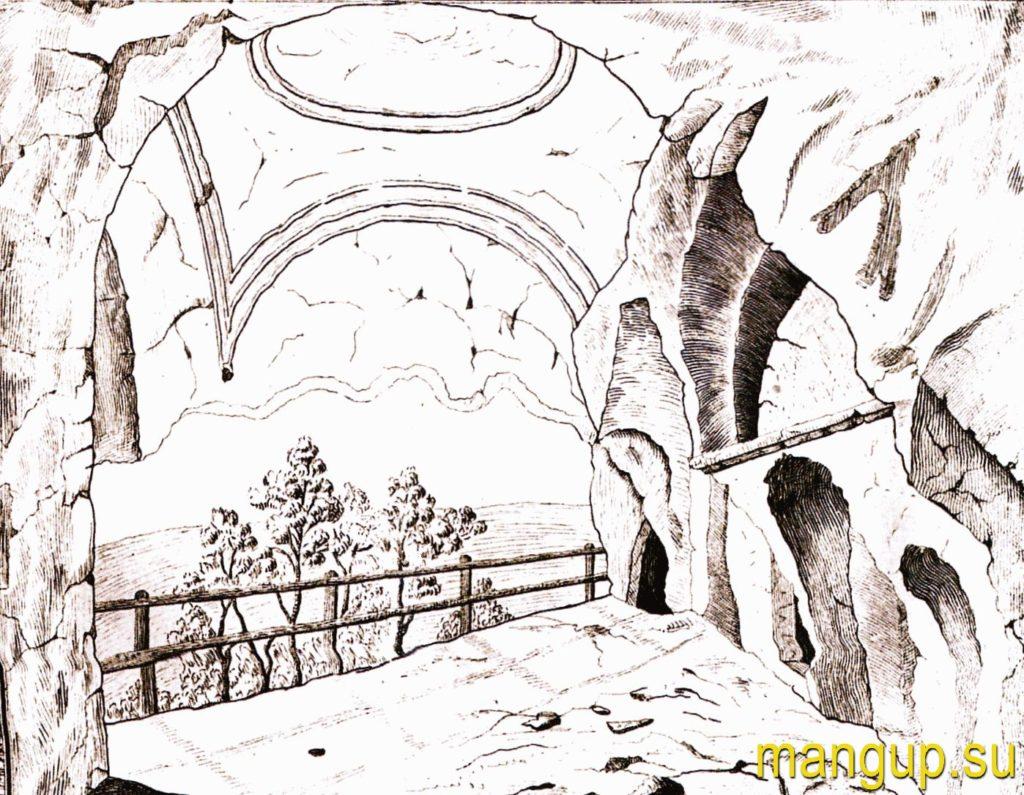 Аркас З.А. Внутренний вид храма св. Софии.