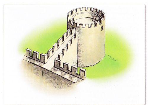 Башня №4 крепости Каламита по В.Ф. Филиппенко.