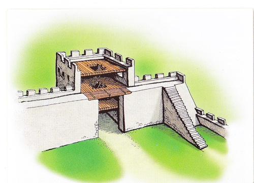 Башня №6 крепости Каламита по В.Ф. Филиппенко.