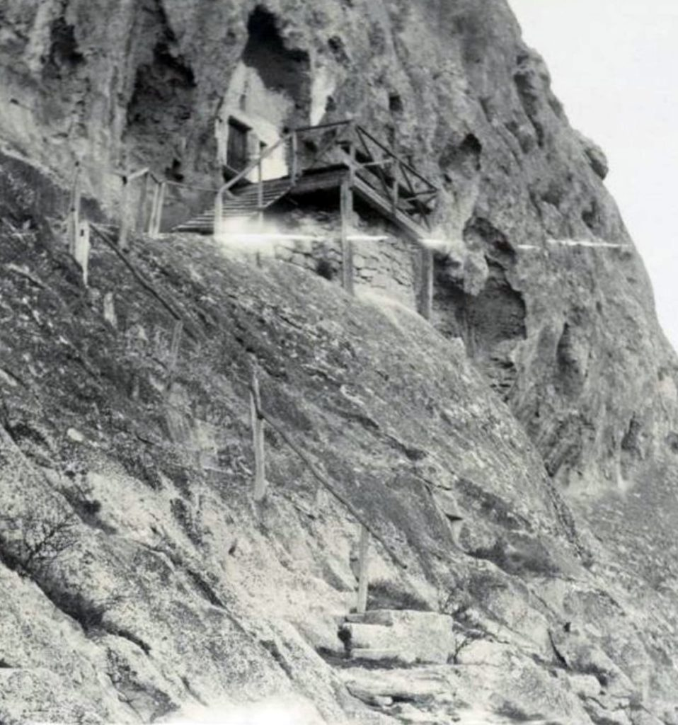 Инкерман. Храм «География». Фото конца XIX века (ГИМ).