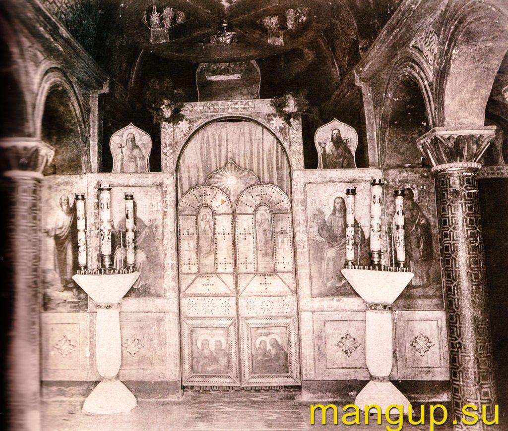 Инкерман. Пещерный храм св. Климента Римского.