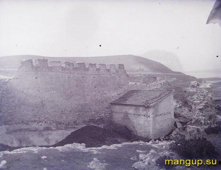 Инкерман. Руины крепости Каламита.