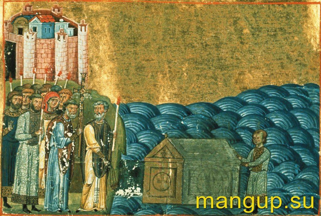 Обретение мощей св. Климента в Херсонесе.