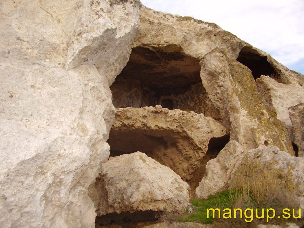 Инкерман. Пещеры комплекса «Анфилады».