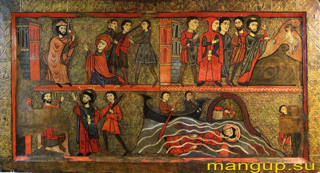 Сцены из жития св. Климента.