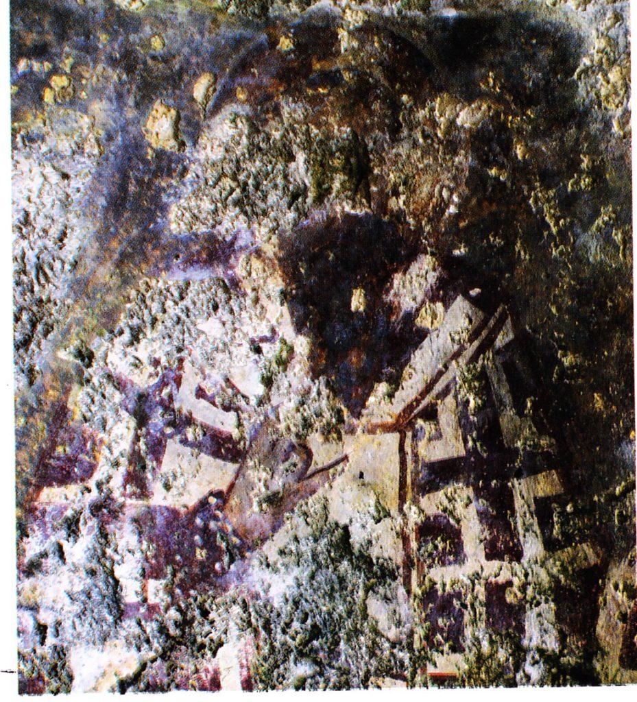 Загайтанская скала. Св. Василий Великий в алтарной части храма св. Николая.