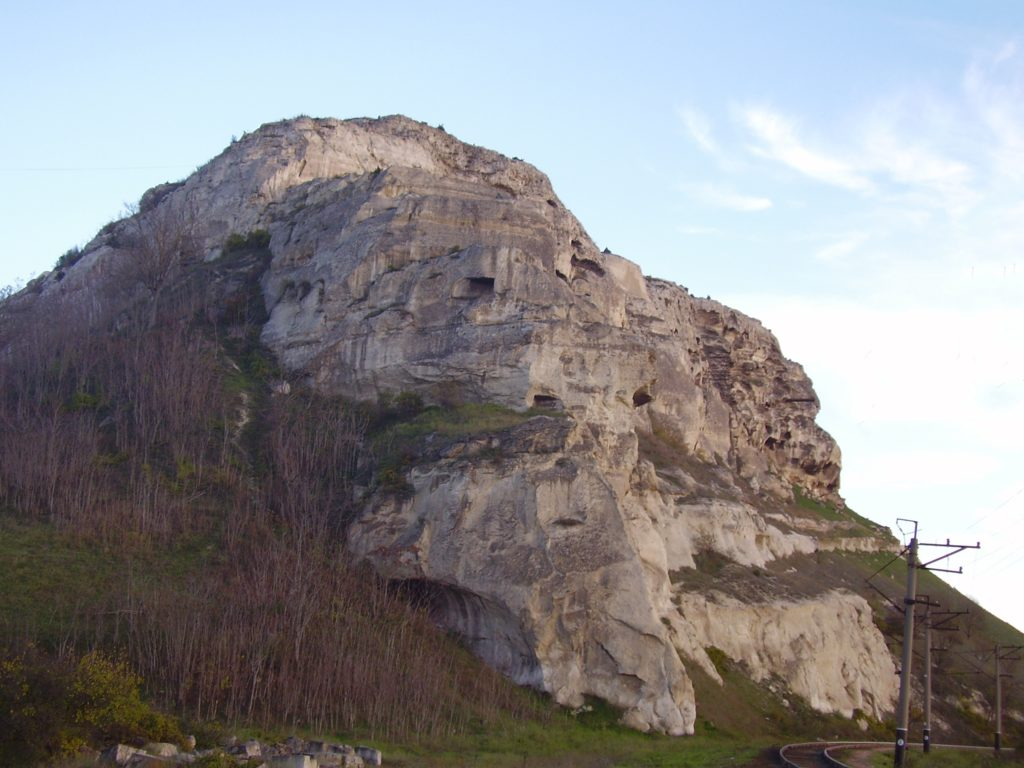 Загайтанская скала. Юго-западная оконечность.