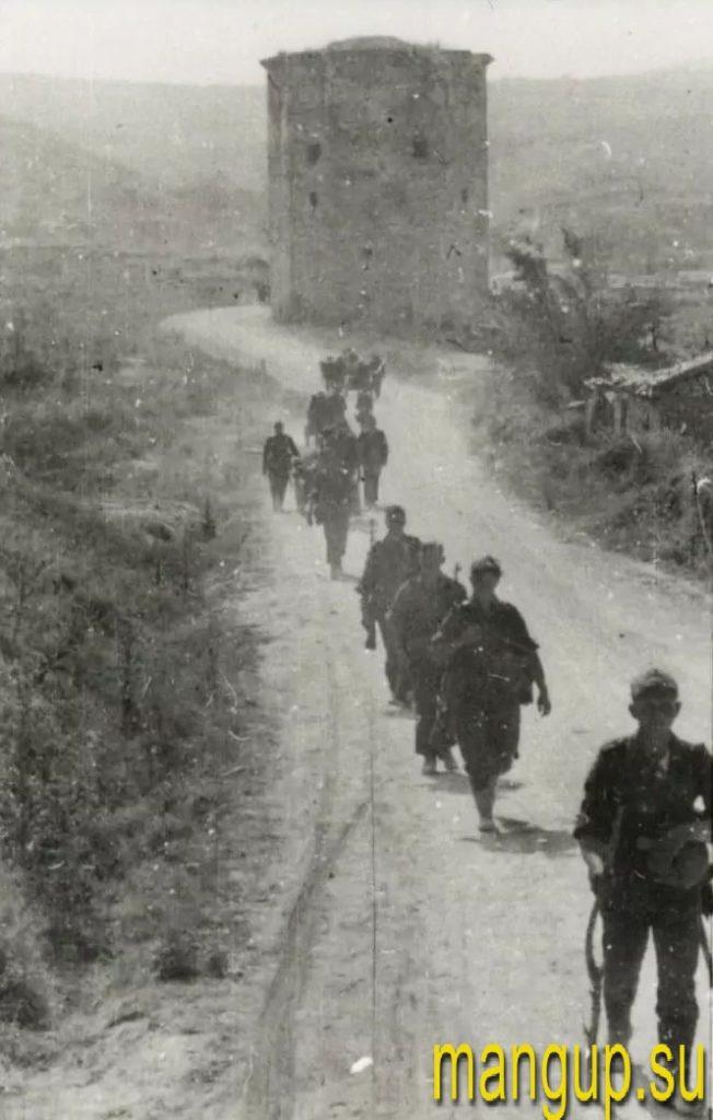 Чоргунь в 1942 году.