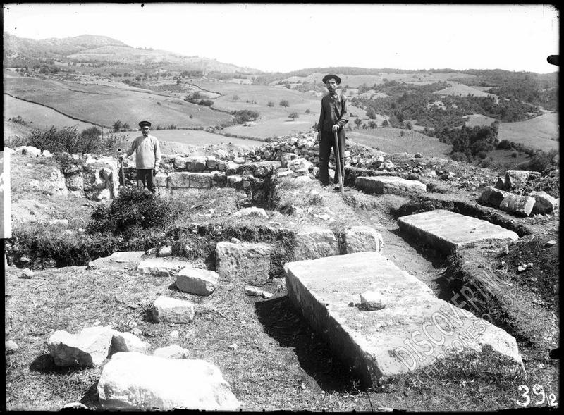 Фоти-Сала. Некрополь при храме в урочище Кильсе-Баир (1914).